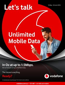 Offers from Vodafone in the Nelson special