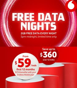 Electronics & Appliances offers in the Vodafone catalogue in Tauranga ( 24 days left )