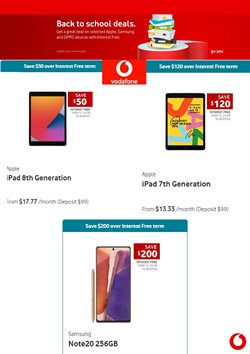 Electronics & Appliances offers in the Vodafone catalogue in Auckland ( 4 days left )
