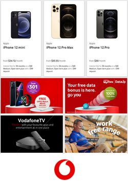 Electronics & Appliances offers in the Vodafone catalogue ( 6 days left )