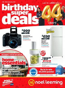 Offers from Noel Leeming in the St Lukes special