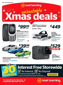 Offers from Noel Leeming in the Tauranga special
