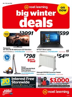 Electronics & Appliances offers in the Noel Leeming catalogue in Hastings