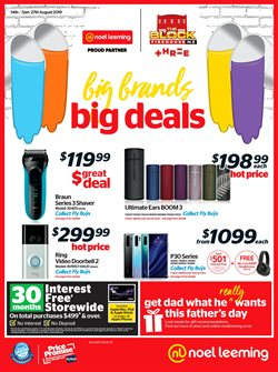 Electronics & Appliances offers in the Noel Leeming catalogue in Auckland