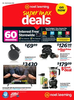 Offers from Noel Leeming in the Hamilton special