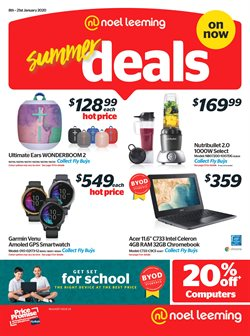 Electronics & Appliances offers in the Noel Leeming catalogue in Hamilton