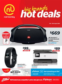 Electronics & Appliances offers in the Noel Leeming catalogue in Wellington ( 1 day ago )