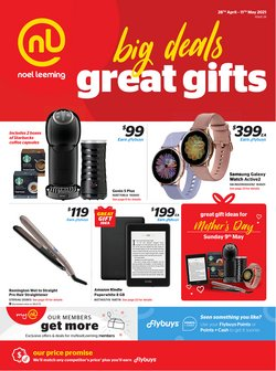Mother's Day offers in the Noel Leeming catalogue ( 2 days left)