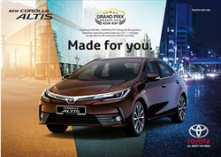 Offers from Toyota in the Auckland special