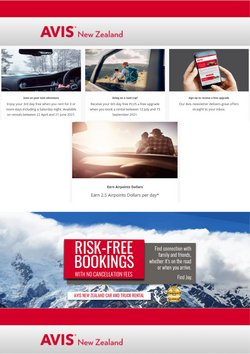 Avis offers in the Avis catalogue ( More than a month)