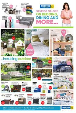 Homeware & Furniture offers in the Briscoes catalogue in Christchurch