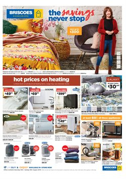 Homeware & Furniture offers in the Briscoes catalogue in Auckland