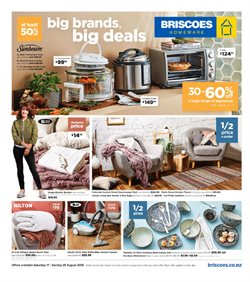 Offers from Briscoes in the Auckland special