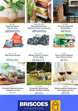 Homeware & Furniture offers in the Briscoes catalogue ( 7 days left )