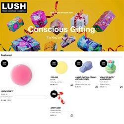 Lush catalogue ( Expired )