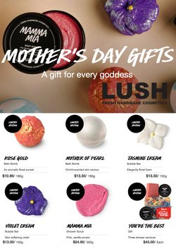 Lush catalogue ( 17 days left )
