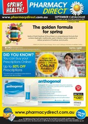 Pharmacy & Beauty offers in the Pharmacy Direct catalogue ( Published today)