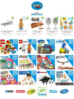 Offers from Toyco in the Auckland special