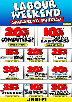 Electronics & Appliances offers in the JB Hi-Fi catalogue in Auckland