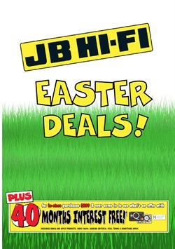 Offers from JB Hi-Fi in the Christchurch special