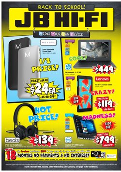 Electronics & Appliances offers in the JB Hi-Fi catalogue in Hamilton