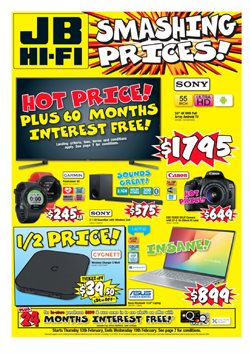 Electronics & Appliances offers in the JB Hi-Fi catalogue in Auckland ( Expires today )