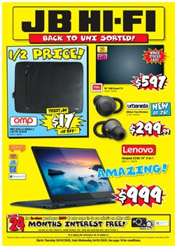 JB Hi-Fi catalogue in Palmerston North ( 5 days left )