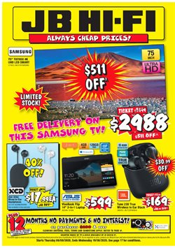 JB Hi-Fi catalogue in Auckland ( 9 days left )