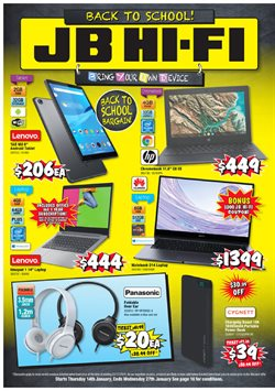 JB Hi-Fi catalogue ( 4 days left )