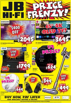 Electronics & Appliances offers in the JB Hi-Fi catalogue ( 2 days left)