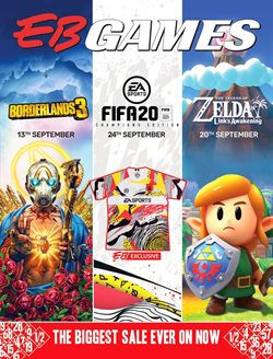 Offers from EB Games in the Auckland special