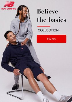 New Balance offers in the New Balance catalogue ( 29 days left)