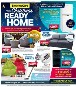 Electronics & Appliances offers in the Smiths City catalogue in Katikati