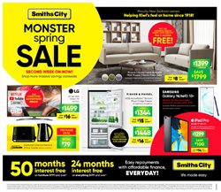 Offers from Smiths City in the Christchurch special