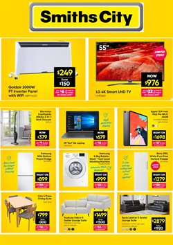 Electronics & Appliances offers in the Smiths City catalogue in Nelson ( Expires today )