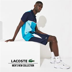 Lacoste catalogue ( More than a month )