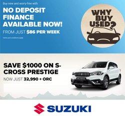 Suzuki offers in the Suzuki catalogue ( 23 days left)