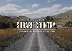 Cars, motorcycles & spares offers in the Subaru catalogue in Hokitika