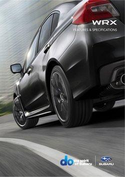 Subaru offers in the Subaru catalogue ( 4 days left)