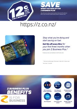 Z Energy catalogue ( Expired )