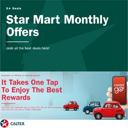 Caltex offers in the Caltex catalogue ( 9 days left)