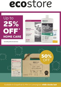 Ecostore offers in the Ecostore catalogue ( Expires tomorrow)