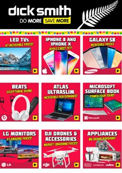 Offers from Dick Smith in the Tauranga special