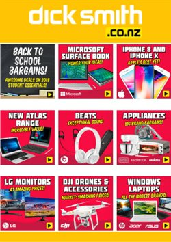 Offers from Dick Smith in the St Lukes special