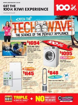 Hardware & garden offers in the 100 % Appliances catalogue in Auckland