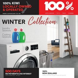 100 % Appliances offers in the 100 % Appliances catalogue ( Expired)