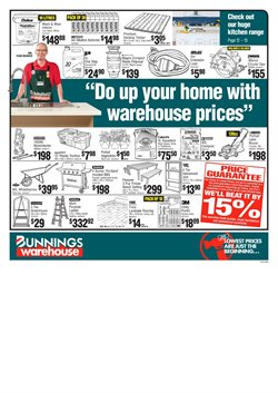 Offers from Bunnings Warehouse in the Blenheim special