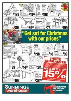 Hardware & garden offers in the Bunnings Warehouse catalogue in Auckland