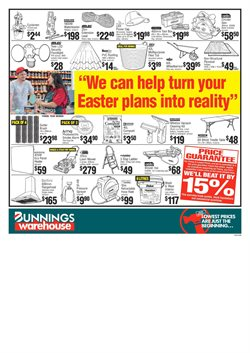 Hardware & garden offers in the Bunnings Warehouse catalogue in New Plymouth