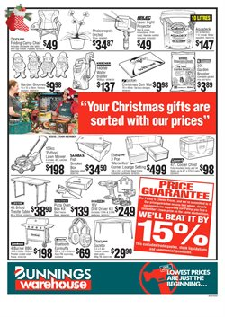 Offers from Bunnings Warehouse in the Auckland special